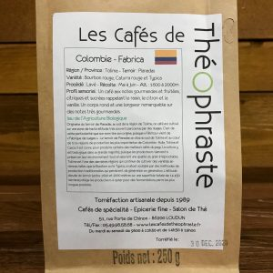 Colombie Fabrica – 250g