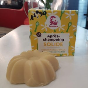 Après-shampooing solide